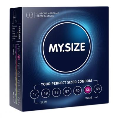 """Презервативы """"MY.SIZE"""" №3 размер 64 (ширина 64mm) - БРАТЬ ЭТОТ"""